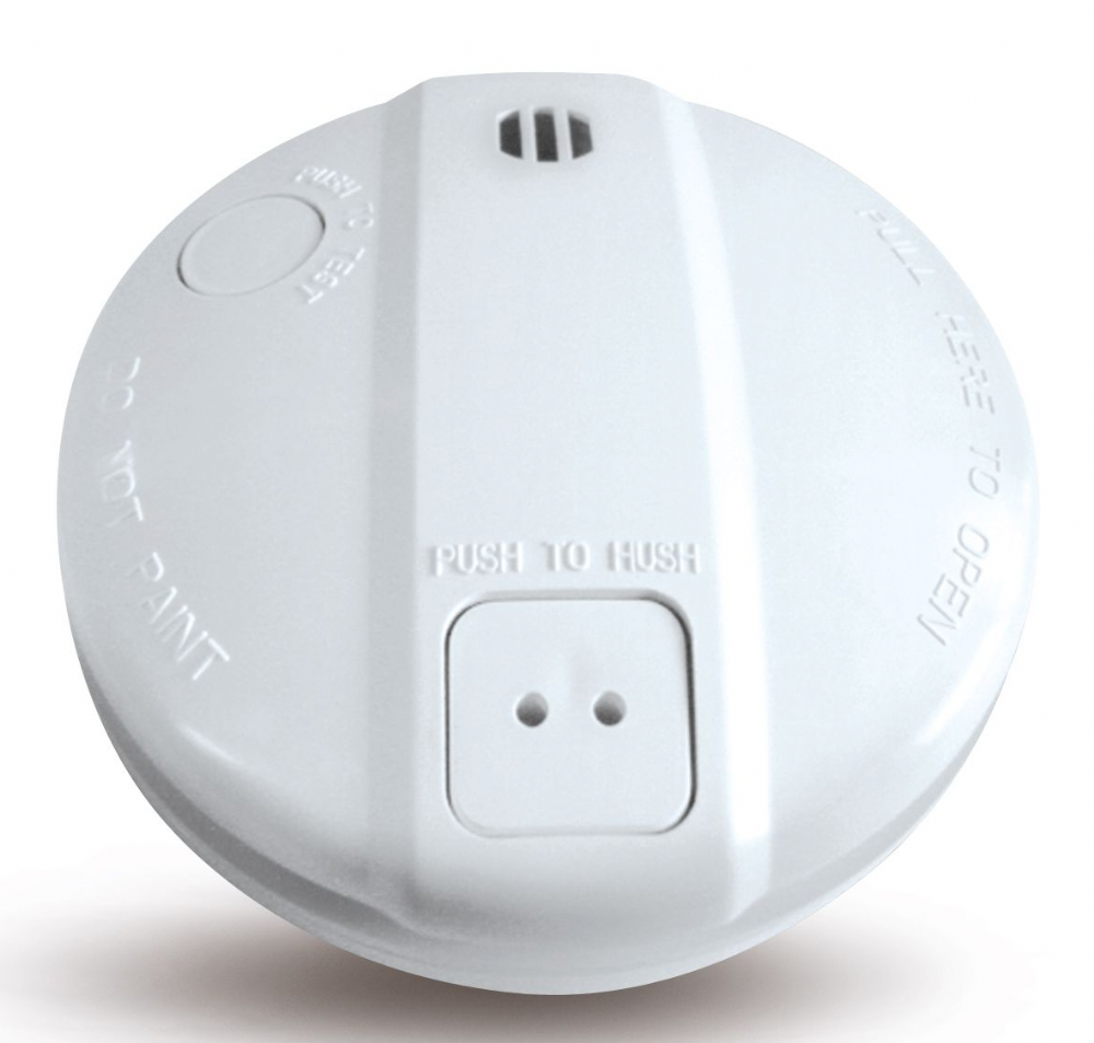 ZT-MAINS-5 Zeta Mains Operated Smoke Detector & Alarm